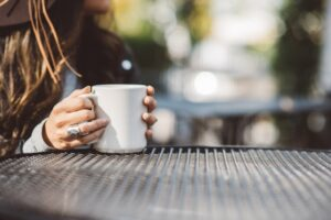 Nyd din kaffe i din have